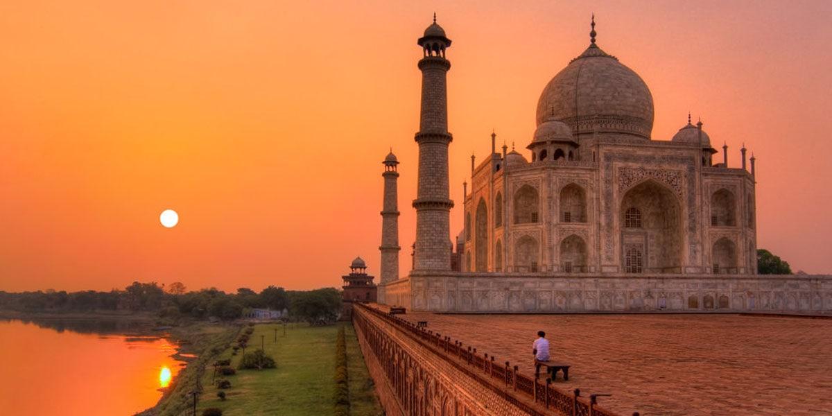 sunrise view of taj mahal tour